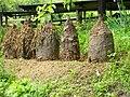 Beehives old style Serbia.jpg