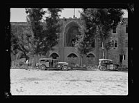 Beit Ed-Din. The Shehab Palace (held as a national monument). Entrance to the Palace LOC matpc.15450.jpg