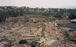 Largest archaeology site in the Middle East. Bet She'an, Israel