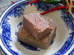 Shrimp paste - Belachan produced in Bangka Island, Indonesia