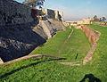 Belgrade. Moat and walls of Kalemegdan fortress.jpg