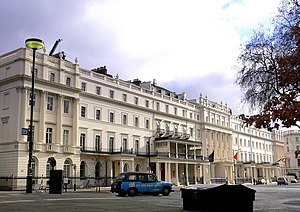Grosvenor Group - Belgrave Square, Belgravia, one of the most prestigious addresses within the Grosvenor Estate.