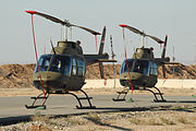 Bell 206B Jet Ranger helicopters