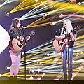 Bella & Filippa 02 @ Melodifestivalen 2017 - Jonatan Svensson Glad.jpg