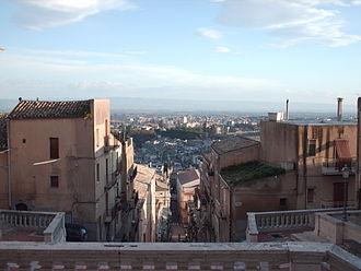 Caltagirone - Image: Belvedere Santa Maria del Monte