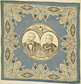 "Benjamin Harrison-Morton ""Protection Home Industries"" Portrait Handkerchief, ca. 1888 (4359362987).jpg"