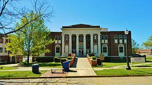 Southeastern Oklahoma State University - Bennett Memorial Library.
