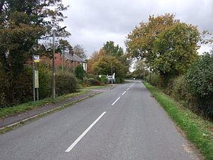 Andertons Mill - Image: Bentley Lane, Andertons Mill