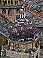 Bergamo Campanone Blick auf die Cappella Colleoni Kuppel.jpg