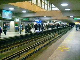 Berri-UQAM station - Image: Berri UQAM Orange Line