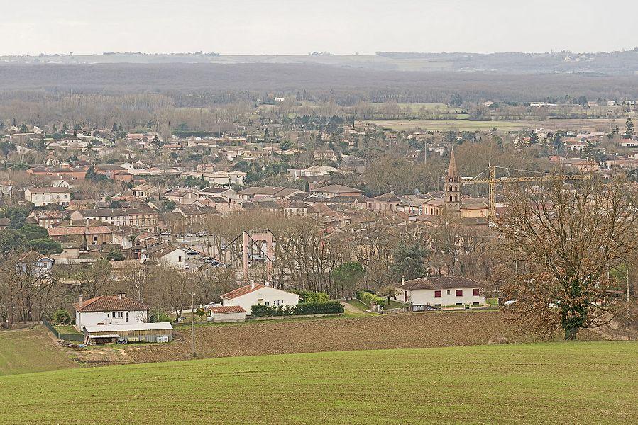 English:  Bessières, Haute-Garonne.
