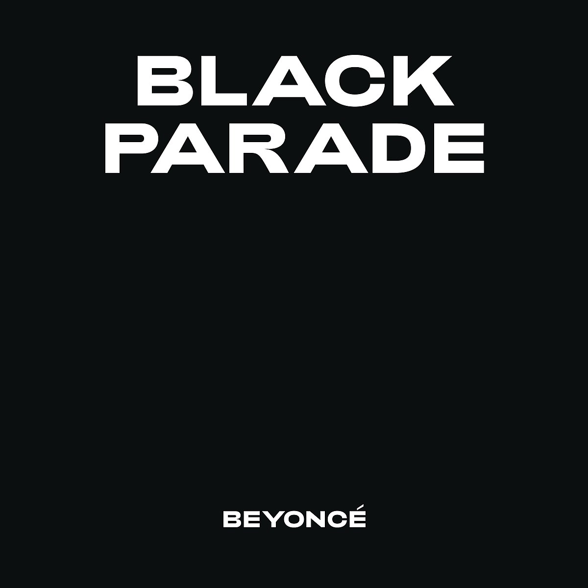 Beyoncé: BLACK PARADE