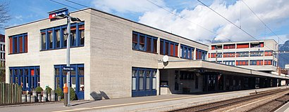 How to get to Bahnhof Buchs (Sg) with public transit - About the place