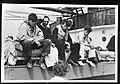 Bijschrift Survivors of the torpedoed vessel overlevenden van het getorperde, Bestanddeelnr 935-3129.jpg