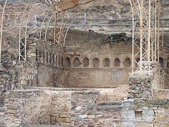 Apodyterium - Apodyterium at Bilbilis, abandoned second century CE.