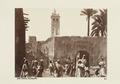 """Bild från familjen von Hallwyls resa genom Algeriet och Tunisien, 1889-1890. """"Sidi Okba, moské."""" - Hallwylska museet - 91962.tif"""