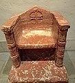 Bishop's throne, 1150-1200, marble, France (Philadelphia Museum of Art).jpg