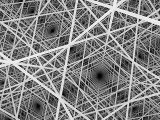 Quarter cubic honeycomb