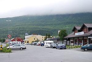 Bjerkvik - View of Bjerkvik