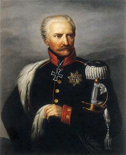 Gebhard Leberecht von Blücher, prince de Wahlstatt.