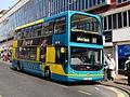 Blackpool Transport bus 332 (PF06 EZP), 17 April 2009 (3).jpg