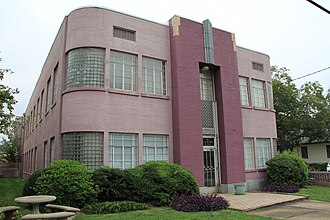 National Register of Historic Places listings in DeKalb County, Georgia - Image: Blair Rutland Building, Decatur, GA 2012