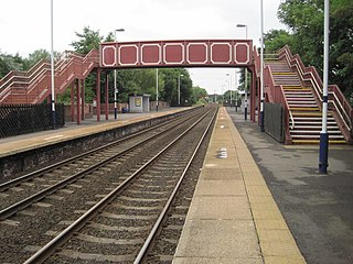Blaydon railway station Railway station in Tyne and Wear on the Tyne Valley Line