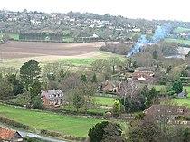 Bledlow Ridge from hill above Slough Bottom Farm - geograph.org.uk - 527531.jpg