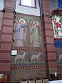 Bliesen St. Remigius Innen Altarraum Wandmalerei 02.JPG