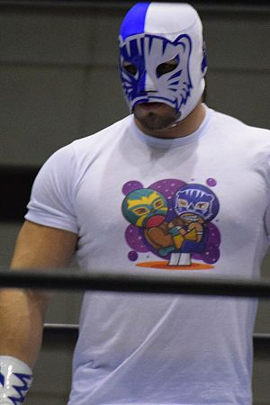 The Panther (wrestler) - Blue Panther Jr., The Panther's older brother.