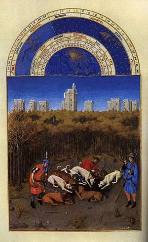 Blood sport - Medieval hunting in the Très Riches Heures