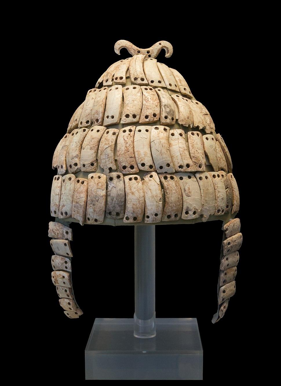 Boars's tusk helmet NAMA6568 Athens Greece1