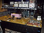 Bob - DARPA Quantum Network, in the BBN laboratory - December 2001 - P1010005.jpg