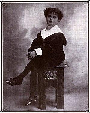 Bob McCay - McCay's son Robert, posing as Little Nemo in 1908