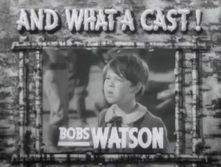 Bobs Watson American actor and Methodist minister