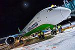 Boeing 787 Dreamliner at Riga Airport (32497766885).jpg