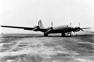 Boeing B-29 Superfortress variants - Boeing XB-29-BO (S/N 41-002, the first XB-29 built)