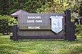 Bogachiel State Park welcome sign.jpg