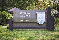 Bogachiel State Park welcome sign.jpg