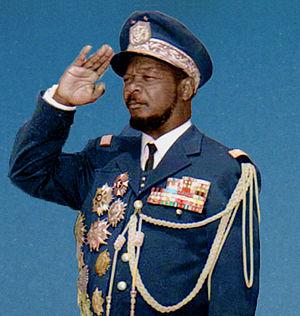 Roger Guérillot - General Bokassa
