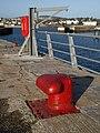 Bollard, Haldon Pier - geograph.org.uk - 1197983.jpg