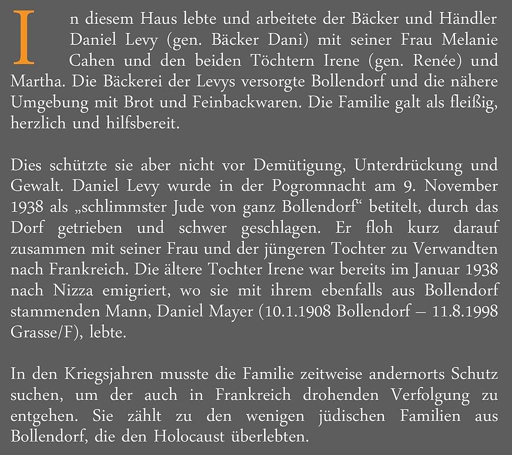 Bollendorf Lindenstraße 10 Gedenktafel.jpg