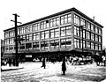 Bon Marche department store at 2nd Ave and Pike St, Seattle (CURTIS 175).jpeg