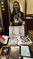 BookSwapping at Wikimania 2018 20180722 151806 (35).jpg
