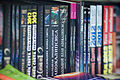 "Books of ""2012 phenomenon"" (Paperback spines).jpg"