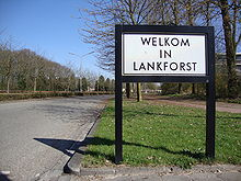 Bord Welkom in Lankforst.JPG