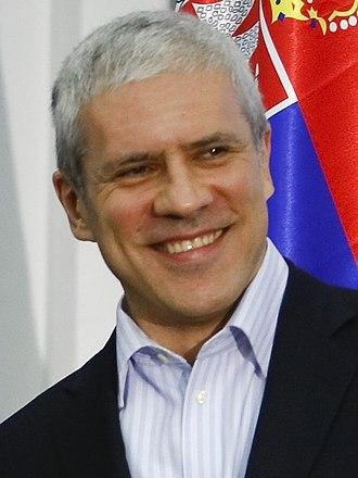 Serbian presidential election, 2012 - Image: Boris Tadic 2010 Cropped