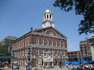 Boston National Historical Park - Faneuil Hall