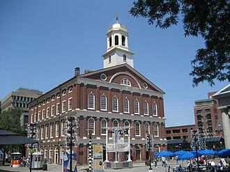 Boston National Historical Park - Faneuil Hall