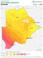 Botswana DNI Solar-resource-map GlobalSolarAtlas World-Bank-Esmap-Solargis.png